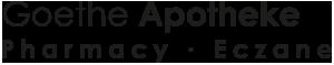 Goethe Apotheke-Pharmacy-Eczane Logo